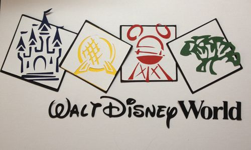 Walt Disney World Logo (paper piecing)