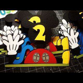 Mickey Mouse Clubhouse paper piecing